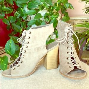 Torrid Lace Up Booties